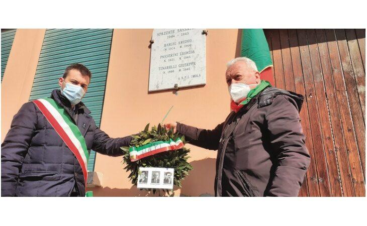 L'Anpi ricorda i partigiani caduti a Spazzate Sassatelli