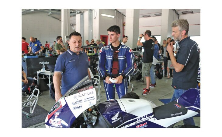 Motori, Carlo Merlini da sempre il braccio destro di Fausto: «Voglio a bordo del team Luca e Lorenzo Gresini»