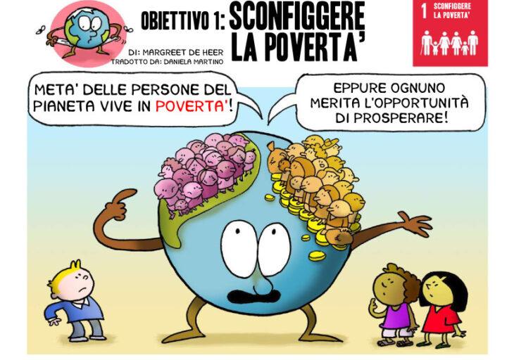 Il fumetto che spiega ai bambini i 17 obiettivi di sostenibilità dell'Onu