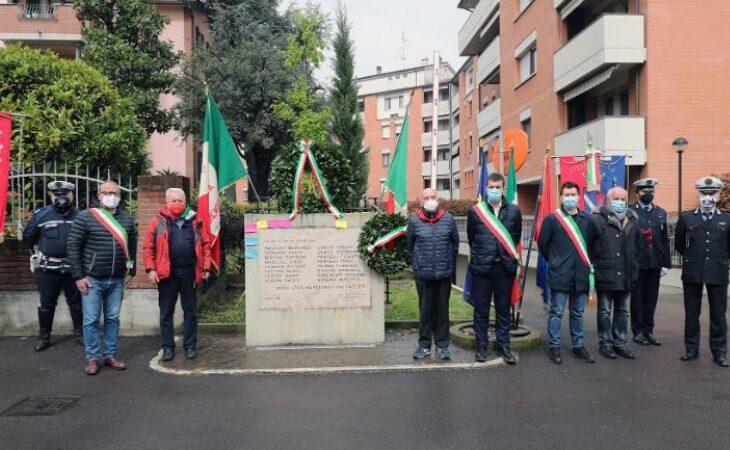 La città di Imola ricorda le vittime dell'eccidio di Pozzo Becca