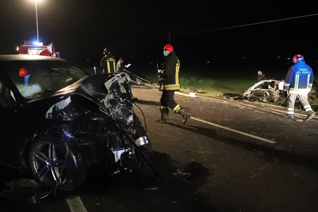 Incidente mortale sugli Stradelli Guelfi, contestati al conducente della Porsche violazioni sul sorpasso e guida sotto l'influenza di alcol