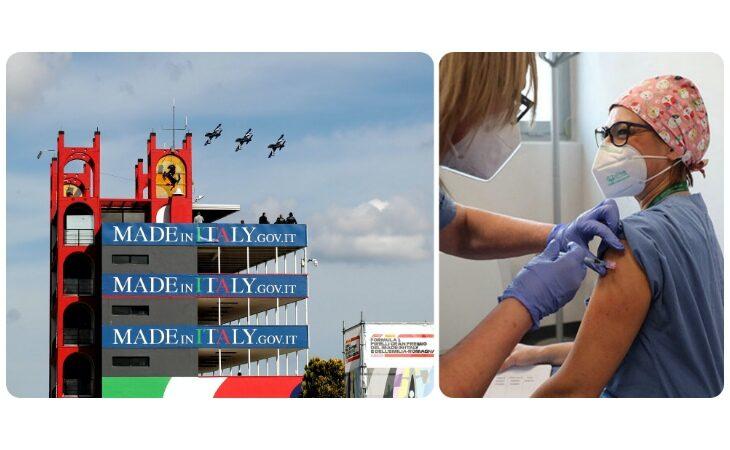 Da oggi a domenica 150 sanitari dei reparti Covid dell'Ausl di Imola al Gp di Formula 1