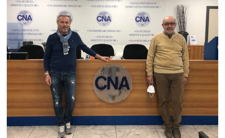 L'imprenditore castellano Claudio Cava presidente di Cna Pensionati Imola per il 2021-24