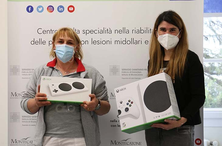 Le «Fiabe del tempo sospeso» donano attrezzature per la riabilitazione all'ospedale di Montecatone