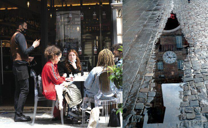 Per un minuto in più nella città che torna bella, il racconto della prima notte «gialla» a Imola