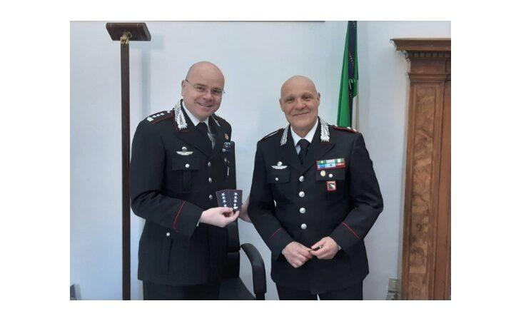 Il tenente dei carabinieri di Imola Biagio Cicatiello promosso al grado di capitano