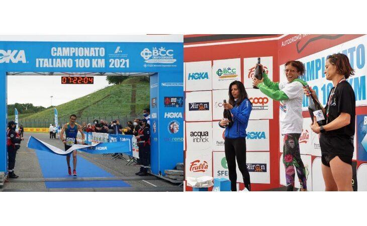 Campionato italiano 100 km, a Imola il trionfo di Marco Menegardi e Denise Tappatà
