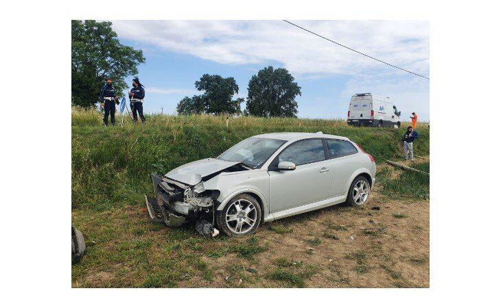 Doppio incidente sulla Correcchio a pochi minuti l'uno dall'altro, tre feriti