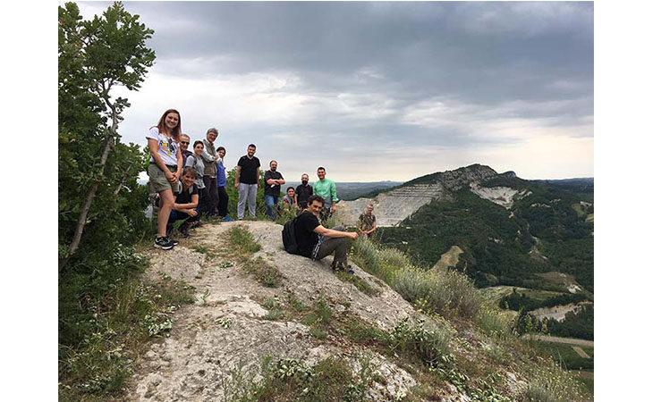 I sindaci in escursione nel Parco della Vena del Gesso, momento conoscitivo e di sostegno alla candidatura a patrimonio dell'umanità Unesco