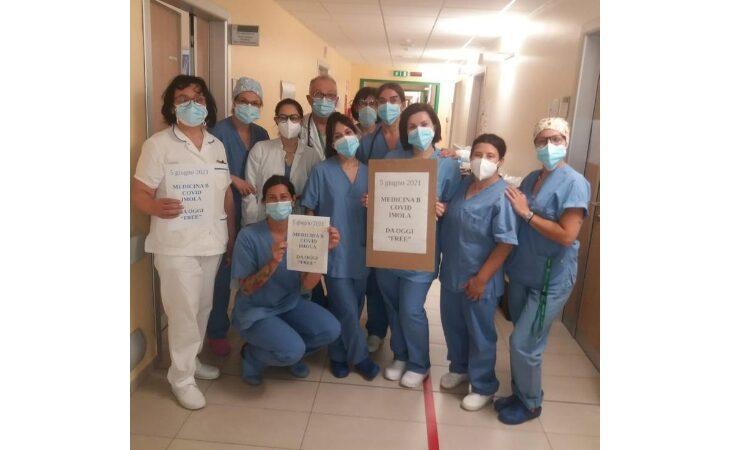 Coronavirus, l'ospedale di Imola da oggi è Covid free