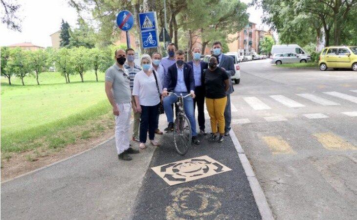Imola sperimenta una pavimentazione ciclo-pedonale urbana più sostenibile e sicura