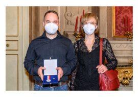 Medaglia al merito civico di Bologna all'infermiere di Casalfiumanese Sergio Bonazzi