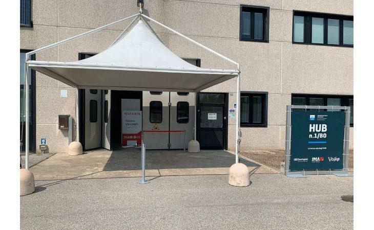 Vaccinazioni al via oggi nell'hub interaziendale di Ima a Ozzano Emilia