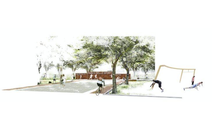 Il progetto della Greenarco srl vince il concorso di idee per il Parco dello Sport di Medicina