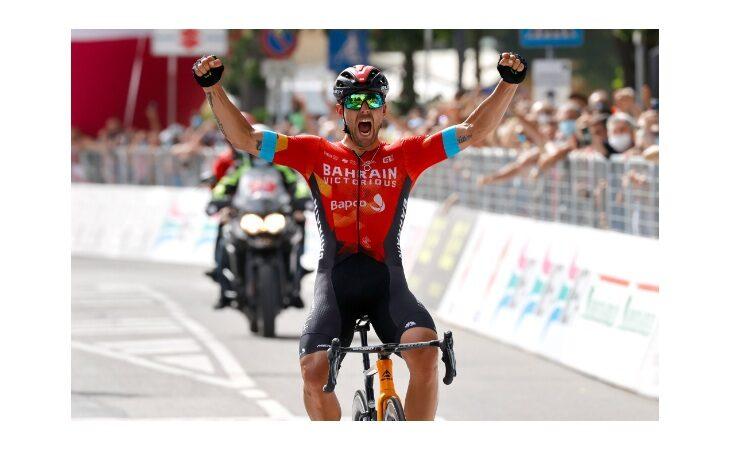 Ciclismo, a Imola la maglia tricolore è di Sonny Colbrelli