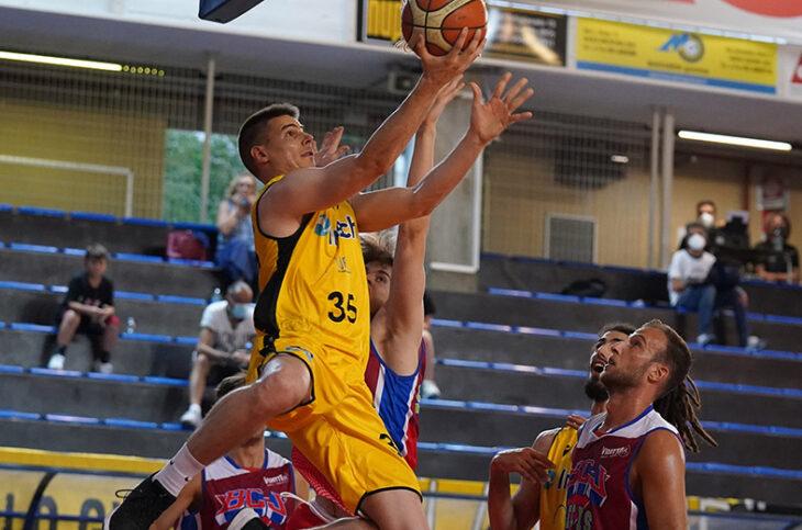 Basket: Vsv sconfitta, mercoledì si va a La Spezia