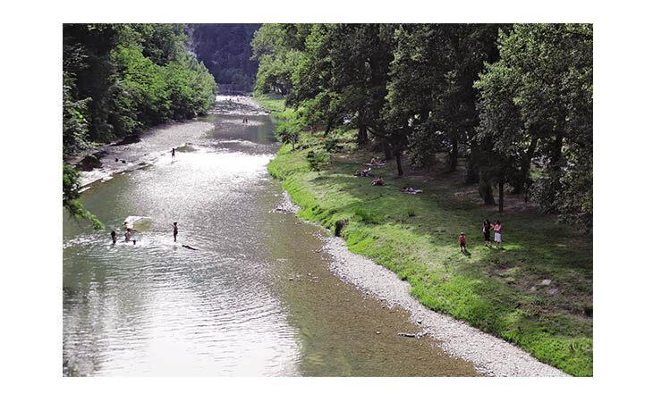 Escursioni, cibo e fiume: il turismo è mordi e fuggi. La mappa dei luoghi più belli sul Santerno