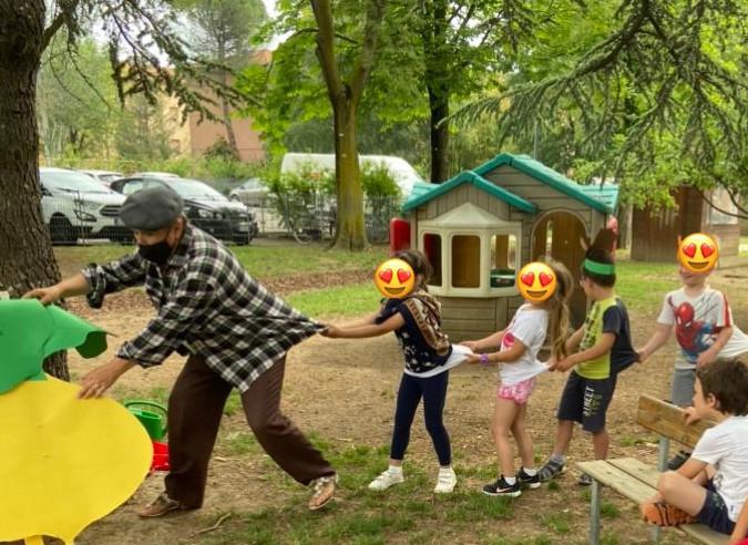 Fiabe e blini bielorussi alla scuola d'infanzia Campanella di Imola