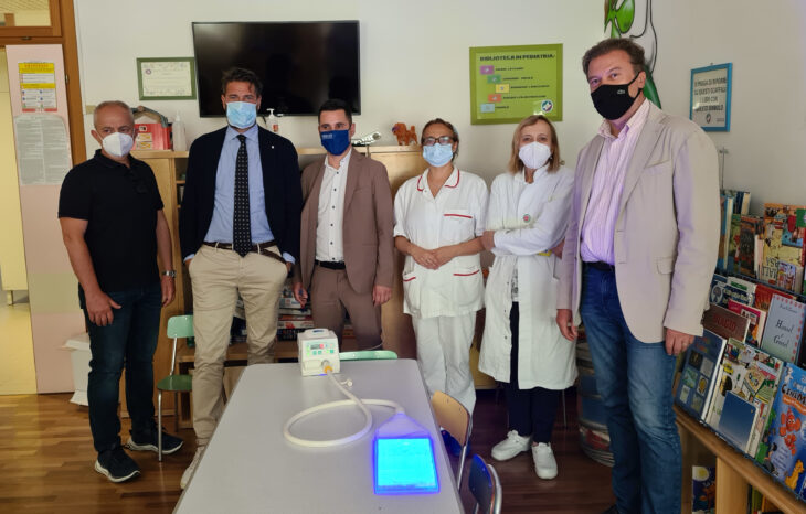 L'associazione ILab dona attrezzatura biomedica alla Neonatologia dell'Ausl di Imola