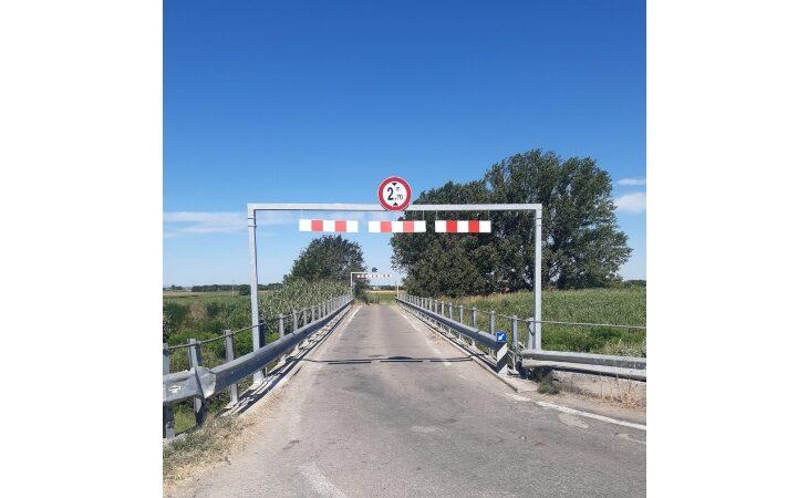 Nuove limitazioni sul ponte di via Massarolo a Medicina