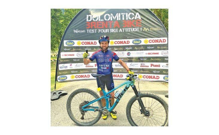 Mountain Bike: anche Selleri jr su due ruote, il calciatore ha completato la «Dolomitica»