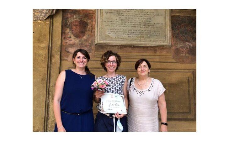 All'imprenditrice imolese Giulia Serrao il prestigioso premio «Tina Anselmi»