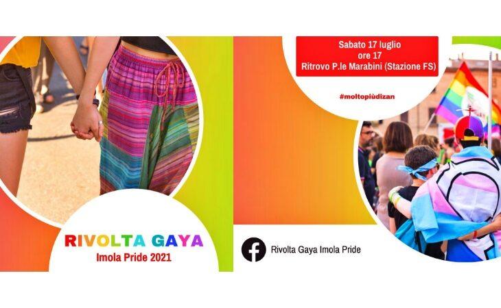 «Imola Pride 2021», sabato 17 luglio il corteo di Rivolta Gaya per le strade della città