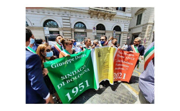 Tutele e dignità ai primi cittadini, anche il sindaco Panieri a Roma per la manifestazione nazionale Anci