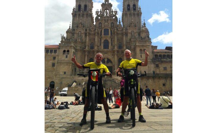 Un anno dopo Roberto e Bruno concludono in bici anche il Cammino de la Plata