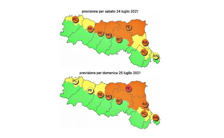 Meteo, prevista ondata di caldo nel fine settimana e disagio soprattutto in pianura