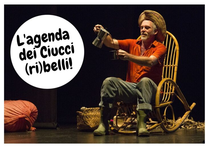 L'agenda dei Ciucci (ri)belli: 2-8 agosto 2021