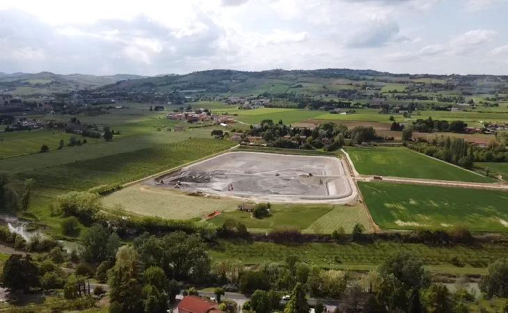 Fabbisogno idrico, il nuovo bacino irriguo Rondinella sarà ultimato a Imola entro novembre