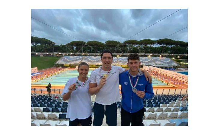 Nuoto, ai campionati italiani di categoria oro per Cerasuolo, Polieri e Castello