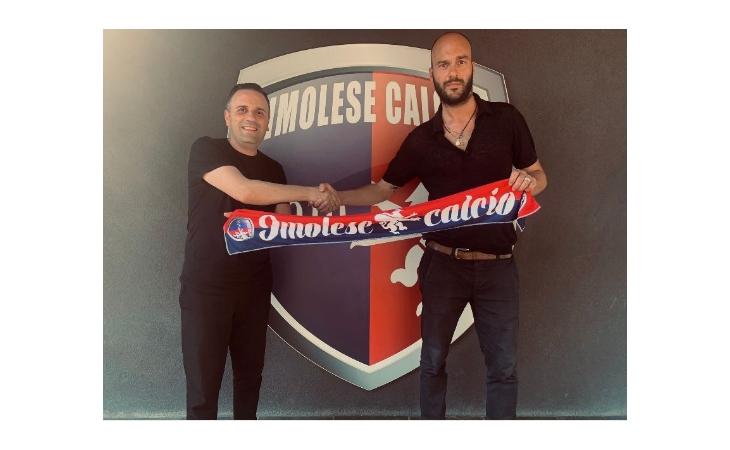Calcio serie C, l'Imolese si rifà il look con il ds Aniello Martone e il direttore scouting Francesco Panfili