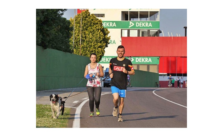 Apertura autodromo, un San Cassiano speciale per runners e pedoni