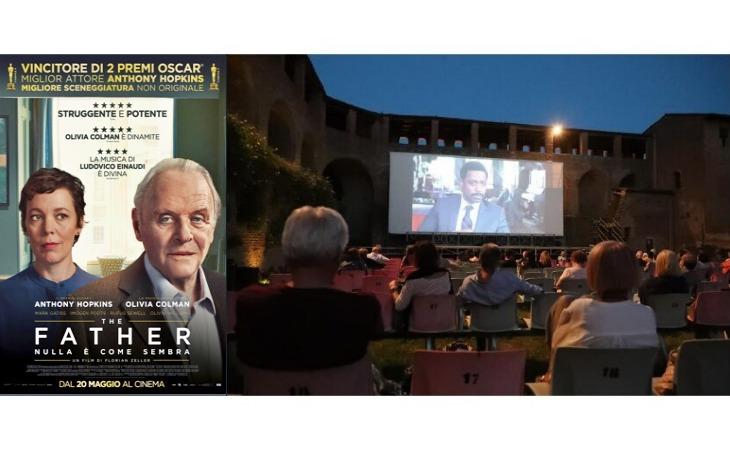 Cinema alla Rocca, a Ferragosto tutti a vedere «The Father» con Anthony Hopkins
