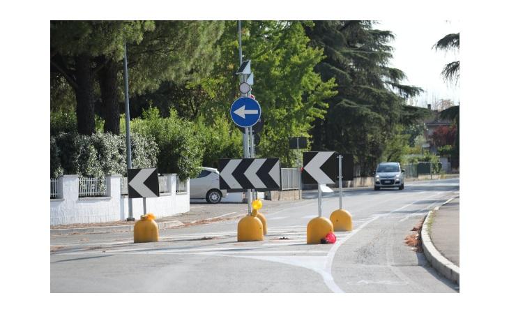In via Pasquala realizzato un sistema di sensi unici e interventi di moderazione della velocità