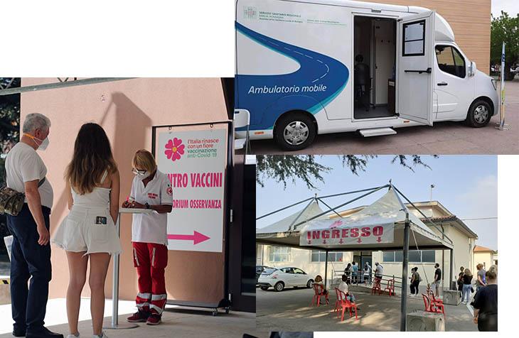 Coronavirus, open day vaccinali per tutti: a Castel San Pietro nell'hub e a Imola in piazza col camper