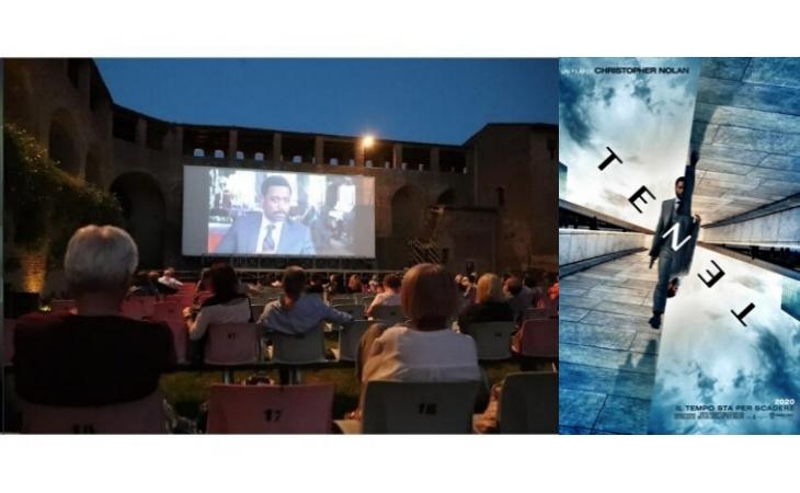Cinema alla Rocca, stasera c'è «Tenet» di Christopher Nolan