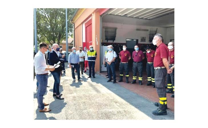La Cittadella del soccorso di Medicina parte dai vigili del fuoco