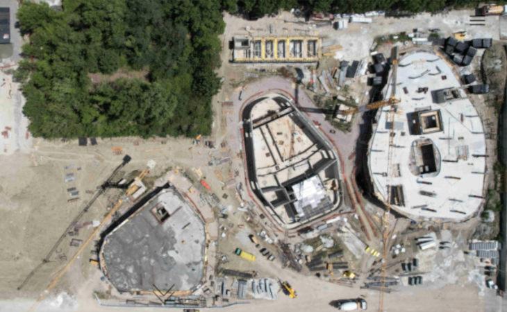 La nuova «casa» di Coop Reno prende forma a Castel Guelfo