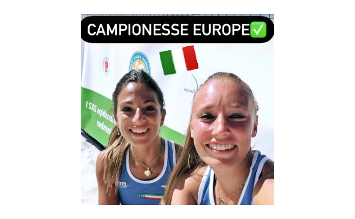 Beach tennis, Giulia Gasparri sul tetto d'Europa