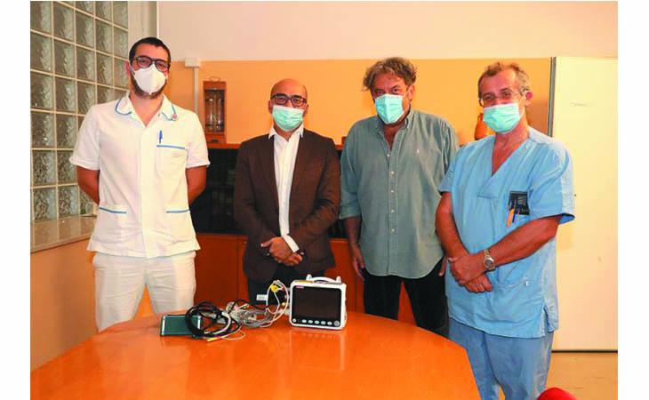 Dalla pubblica assistenza Paolina un monitor multiparametrico per il reparto di geriatria