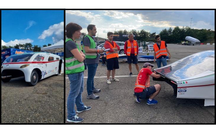 European Solar Challenge, sul circuito di Zolder anche Emilia 4 di Onda Solare
