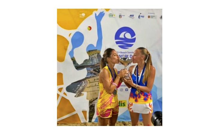 Beach tennis, il 2021 di Giulia Gasparri è… mondiale