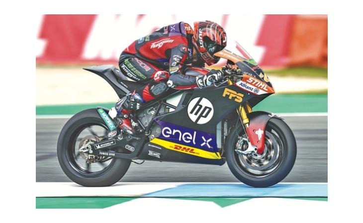 Motomondiale, Fps porta fortuna alla Pons Racing. Il logo sulla moto E del campione del mondo Torres