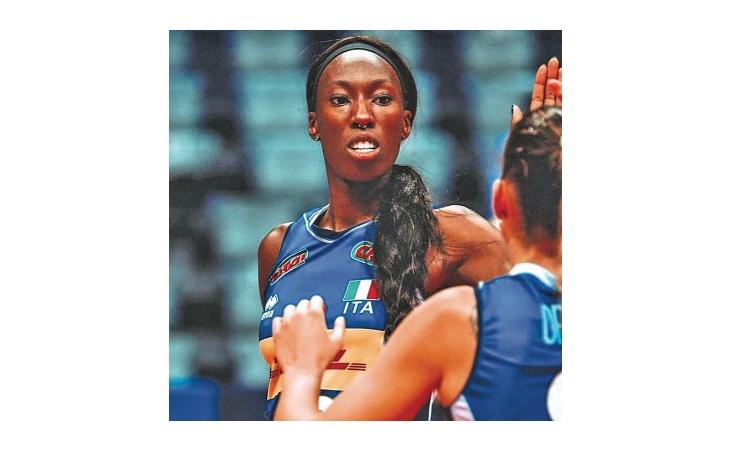 Paola Egonu al Ruggi, in campo non solo volley ma anche diritti