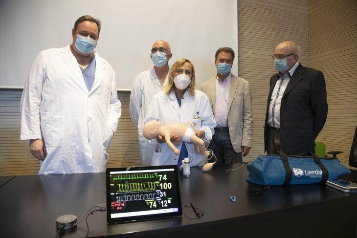 Il ricordo di Danilo, Luca e Nikos negli strumenti donati alla Pediatria di Imola