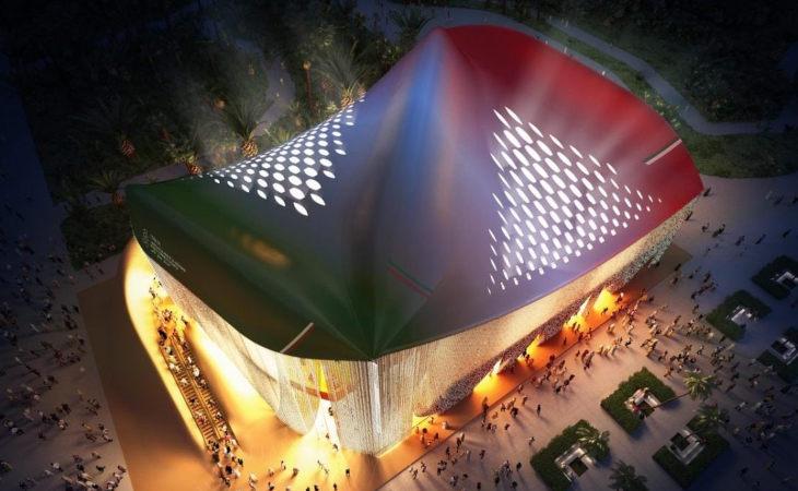 Expo Dubai, le luci led di Cefla Lighting illuminano il padiglione che «respira»