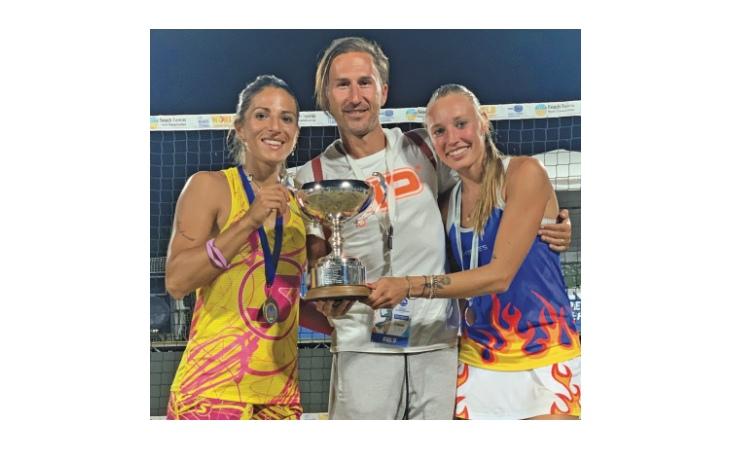Beach tennis, nel 2021 Giulia Gasparri ha vinto tutto: «Un triplete di gioia»